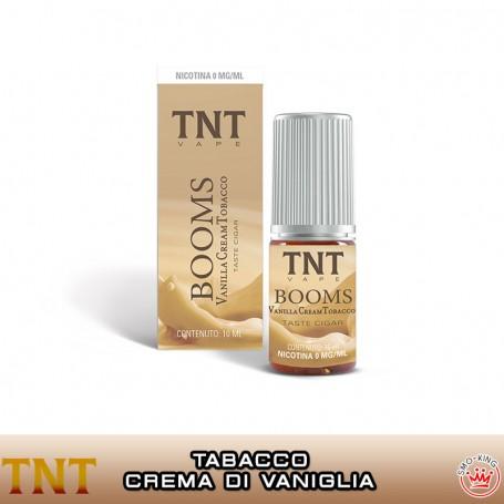 BOOMS VCT 10 ml Liquido Pronto Nicotina TNT VAPE per Sigaretta Elettronica