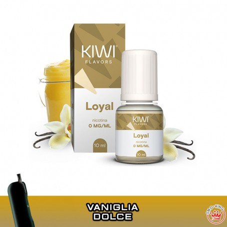LIQUIDI KIWI VAPOR 10 ml TPD Flavors LOYAL