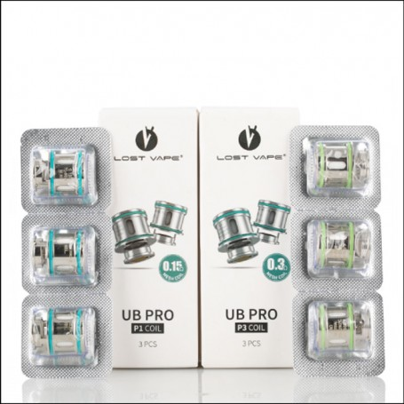 UB PRO Replacement Resistors for URSA LOST VAPE 3 Pieces