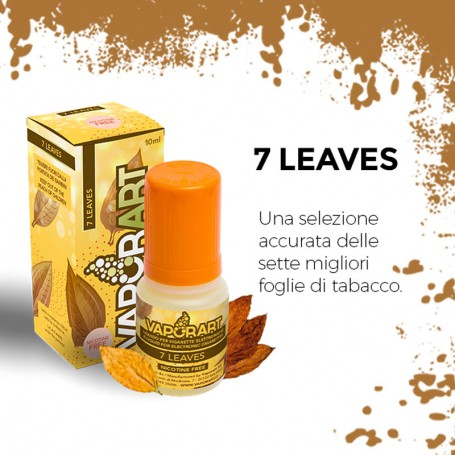 7 LEAVES 10 ml Liquido Pronto Nicorina VAPORART