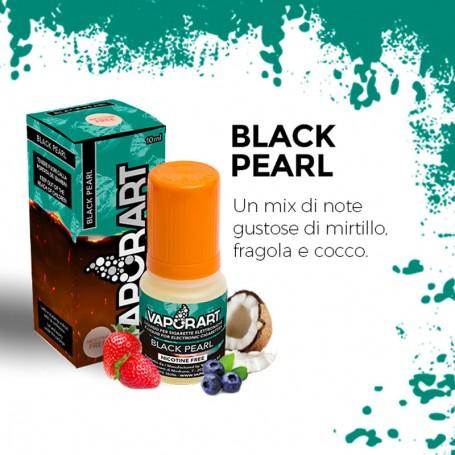 BLACK PEARL 10 ml Liquido Pronto Nicotina VAPORART