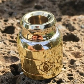 IRON STEAM Cap-And-Drip Brass Polished