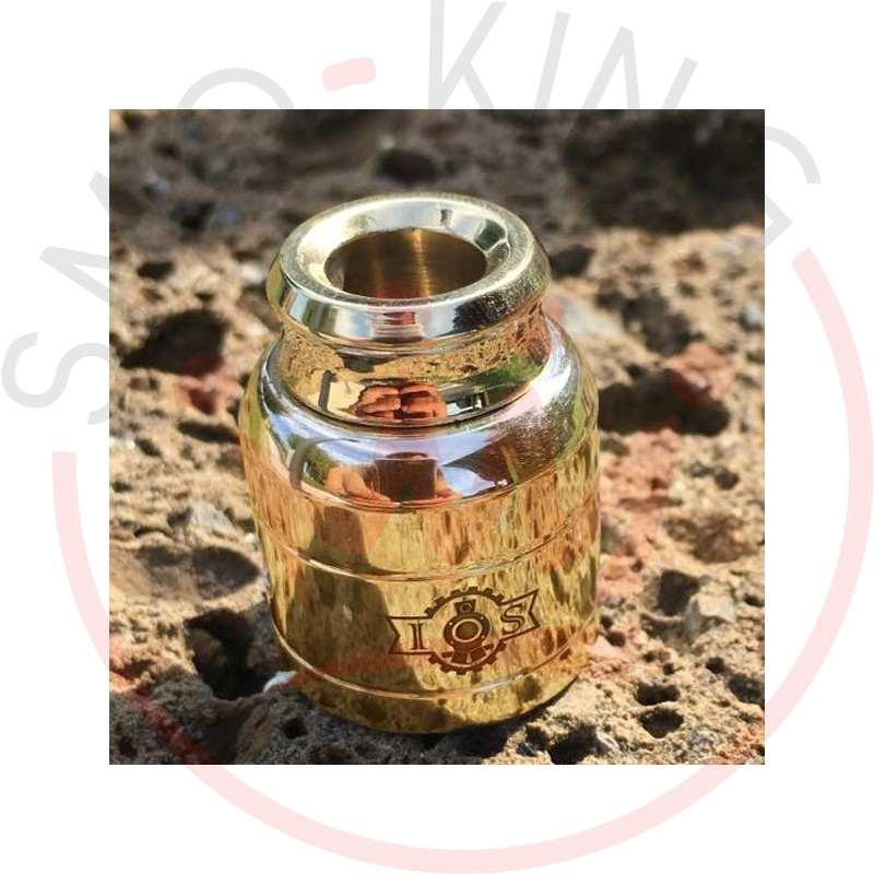 Iron Steam Cap And Drip Brass Polished