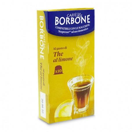 Nespresso 10pz Capsule THE LIMONE Borbone