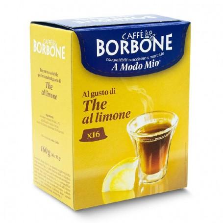 A MODO MIO 16pz Capsules THE LEMON Borbone