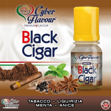 BLACK CIGAR Aroma 10 ml CYBER FLAVOUR