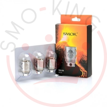 SMOK Tfv8 V8x4 Coils-Pack of 3