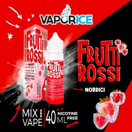 VAPORICE FRUTTI ROSSI NORDICI Liquido 40 ml Mix VAPORART