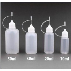 Bottles Transparent 50ml With Needle