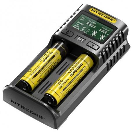 Nitecore Um2 Caricabatteria Per Batterie Liioni Imr