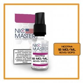 Nic Master Base Neutra 10ml 80/20 Nicotina