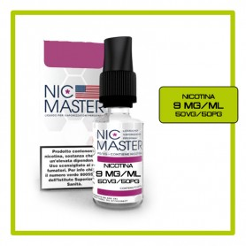Nic Master Base Neutra 10ml 50/50 Nicotina