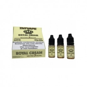 Tnt Vape Booms Royal Cream 3pz X 10ml 0 mg