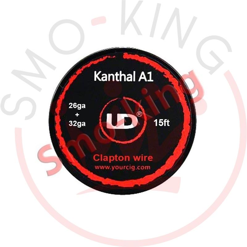 YOUDE 26ga Ss316l +32ga Ka1 Clapton Wire 5ml
