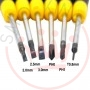 YOUDE Technoligy Ud Screwdrivers 6 Pieces