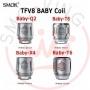 Smok Head Resistenze di Ricambio Tfv8 Baby X4 Per Smok Baby Tfv8 Da 0,15ohm 5 Pezzi