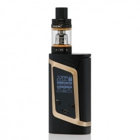 Smok Alien Box Mod Kit Tc 220w Con Tfv8 Baby Black/gold