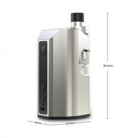 ELEAF Aster Rt With Atomizer Melo Rt 22 100watt Silver