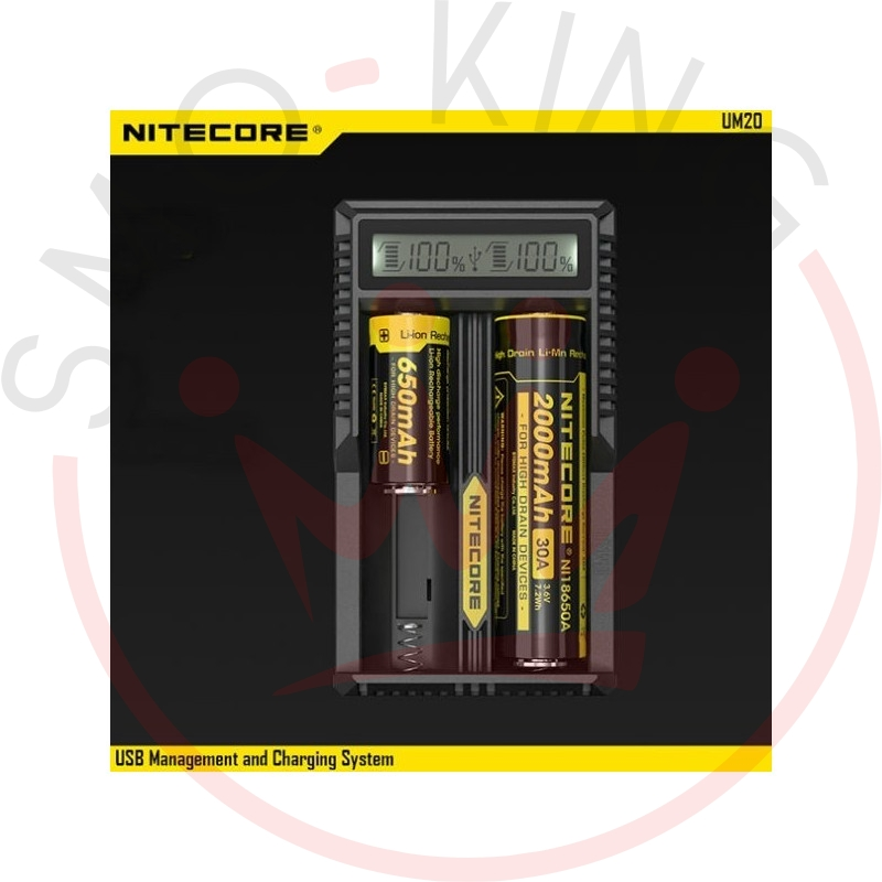 NITECORE Um20 battery Charger For Batteries Liioni Imr