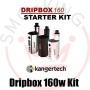 Kangertech Dripbox 160watt Kit Bottom Feeder Silver