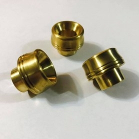 SASA' MODS Wide Bore Brass Swiftip By Sas' Mod Drip Tip