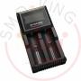 Nitecore Digicharger D2 Carica Batterie 2 Posti