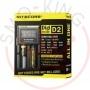 Nitecore Digicharger D2 Caricabatterie 2 Posti