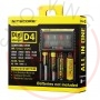 Nitecore Caricabatterie D4 Charger