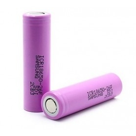 Samsung Battery 26F 18650 2600mAh