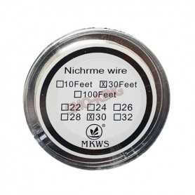 Mkws Nichrome Wire 30ga 9ml