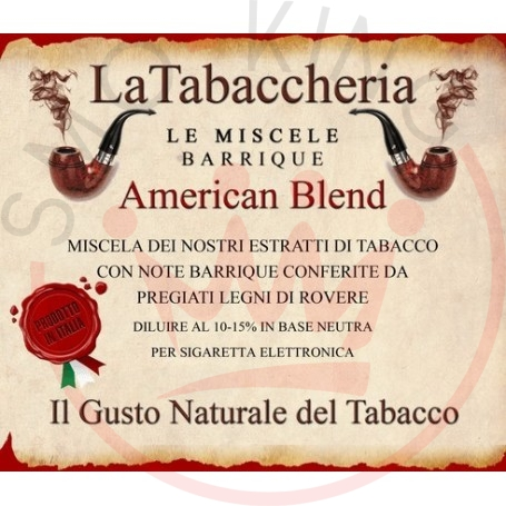 La Tabaccheria Miscele Barrique American Blend Aroma 10ml