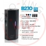 Kangside B230 Tc Box Mod Chip Yihi 345 230 Watt Black