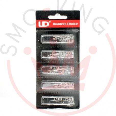 YOUDE Prebuilt Coils 24ga K A1 0,50oHm 2,8mm 10pcs
