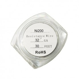 Resistance Wire Ni200 32ga 9ml