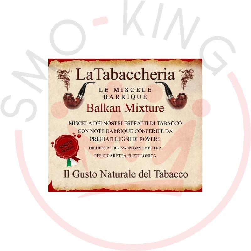 La Tabaccheria Balkan Mixture Aroma 10ml