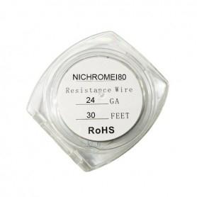 Resistance Wire Nichrome I80 24ga 9ml