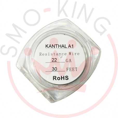 Resistance Wire Kanthal A1 22ga 9ml