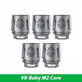 Smok Resistenze di Ricambio Tfv8 Baby M2 Core 0,15ohm 5 Pezzi