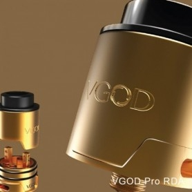 Vgod Pro Drip Rda 24 Millimetri Due Post Gold