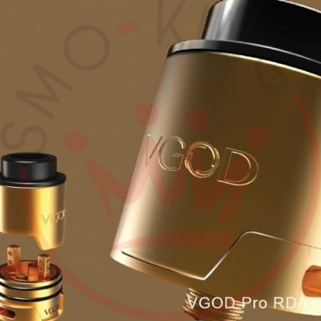 Vgod Pro Drip Rda 24 Mm - Two Post Gold