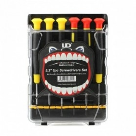 Youde Technoligy - Ud Screwdrivers 6 Pieces