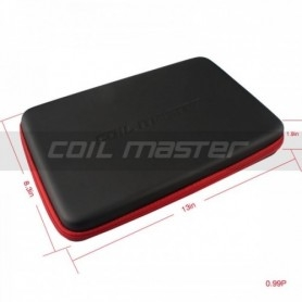 Coil Master Kbag Black 33cm X 31cm X 4.8 cm