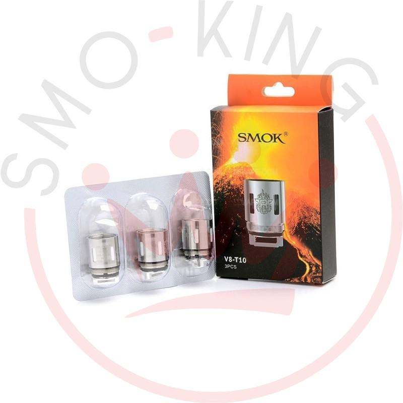 SMOK Tfv8 V8t10 Decadecuple Coils-Pack of 3