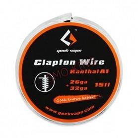 GEEKVAPE Clapton Wire kanthal wire A1 26ga + 32 Ga 4