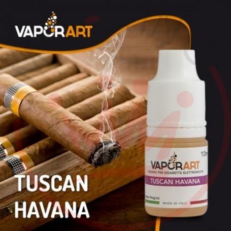 Vaporart Tuscan Havana 10 ml Liquido Pronto Nicotina