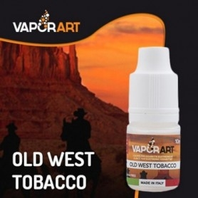Vaporart Old West Tobacco 10 ml Nicotine Ready Eliquid