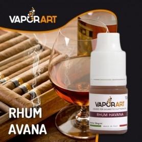 Vaporart Rhum Havana 10 ml Nicotine Ready Eliquid