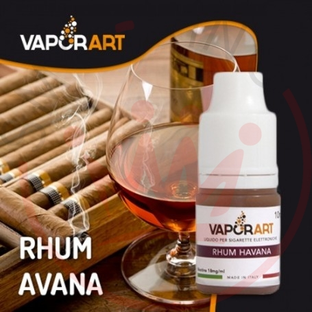 VAPORART Rum Havana 0 mg Liquid Ready 10ml