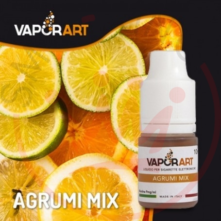 Vaporart Agrumi Mix Liquido Pronto 10ml 0 mg