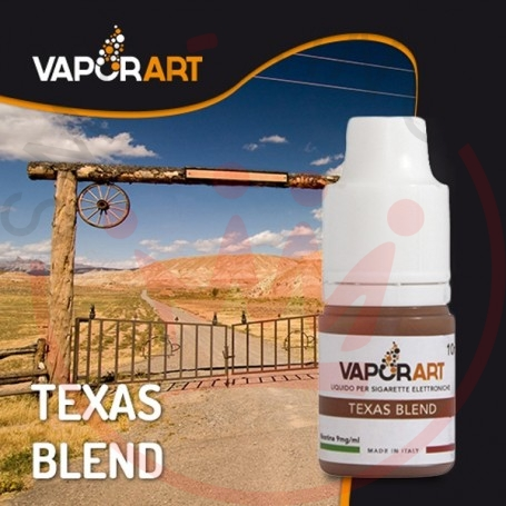 Vaporart Texas Blend Liquido Pronto 10ml 0 mg